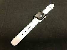 Apple Watch Series 3 42mm Silver Aluminium Case White Straps GPS