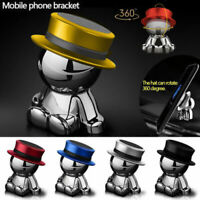 360° Rotation Hat Man Car Magnetic Holder Mount Dashboard Stand Mobile Phone New