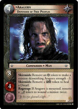 1x LORD OF THE RINGS LOTR TCG PROMO 0P47 ARAGORN, DEFENDER OF FREE PEOPLES