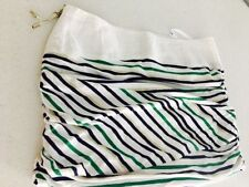 Rayon Striped Mini Skirts for Women