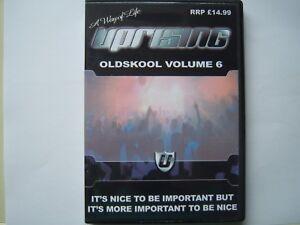 UPRISING OLDSKOOL 4 PACK CDs - VOL 6 FREEPOST