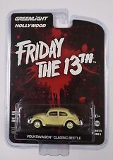 GREENLIGHT FRIDAY THE 13TH PART III 1963 VW VOLKSWAGEN BEETLE 1/64 YELLOW