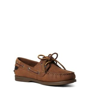 Ariat Antigua Womens Deck Shoe Walnut