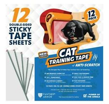 20 Panther Armor Cat Training Tape Anti Scratch Furniture Protector Sticky Sheet