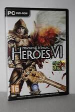 HEROES VI HEROES OF MIGHT & MAGIC GIOCO USATO PC DVD VER ITALIANA FR1 52010