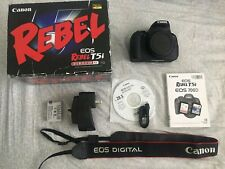 Canon EOS Rebel T5i / EOS 700D Digital SLR Camera - Black (Body Only)