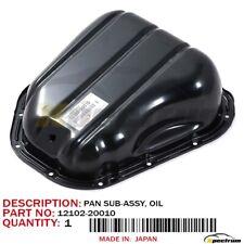 TOYOTA LEXUS 1MZFE 3MZFE FACTORY OEM 12102-20010 NEW LOWER ENGINE OIL PAN
