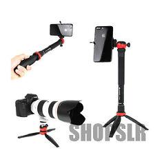 Gizomos G-2506MB Selfie Stick + Ballhead for Tripod Iphone Galaxy Table top Mini