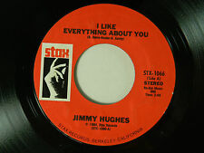 Jimmy Hughes (hits 45) LIKE EVERYTHING ABOUT YOU / Hot Sauce BRING IT HOME ~ VG+