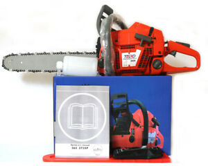 "HUS365 CHAINSAW 65CC CHAINSAW, Heavy Duty Petrol Chainsaw with 18"" Blade"