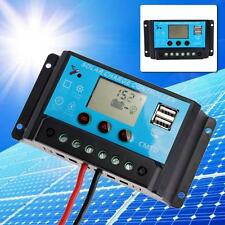 MPPT LCD Dual USB Solar Panel Battery Regulator Charge Controller 12/24V 20A MT
