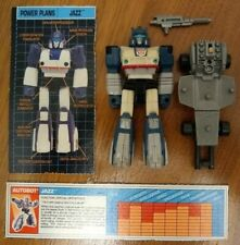Jazz 100% Complete Action Masters 1990 Vintage Hasbro G1 Transformers
