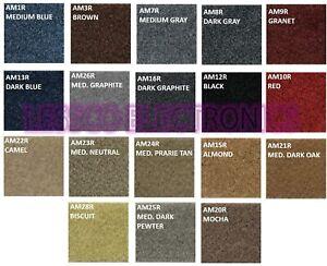 Choose Your Color ! Thick Acoustic Speaker Box Carpet Trunk Liner DJ Carpet Rug