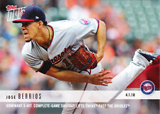 Jose Berrios Twins Complete Game Shutout 2018 Topps NOW #20 ONLY /318 Printed