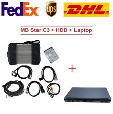 MB Star C3 Full Set Diagnostic Tool with 2016.06 Software HDD and D630 Laptop