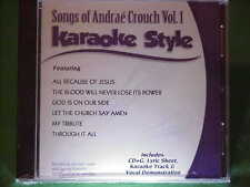 Andrae Crouch~#1 ~ Christian~Daywind~Karaoke Style ~ All Because of Jesus ~ CD+G