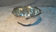 Sterling Silver 925 Hand Hammered Bowl - Canales Industria Peruana - Peru