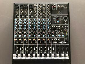 Mischpult t.mix 1622FX 16-Kanal mit Effektprozessor