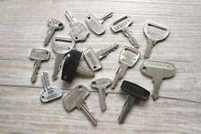 Yamaha NOS motorcycle key -vintage pre-cut key - numbers 105 to 9668 - free ship
