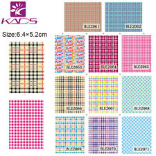 11 Sheets/Lot Unique Nail Art Stickers Water Transfer Decals #BLE2061-2071