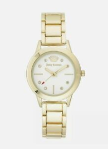 JUICY COUTURE Black Label Womens Watch Gold JC/1142WTGB