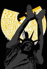 "016 Wu Tang Clan - Logo Members Art Group Band Hip Hop Rap 14""x20"" Poster"