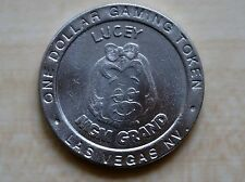 1993 MGM Grand Hotel & Casino Lucey One Dollar Gaming Token Coin Las Vegas NV