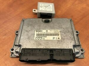 Fiat Ducato Citroen Jumper Engine Control Unit Ecu Bosch 1338284080 0281010984