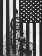 La propagande politique wounded knee native american massacre print BB2694B