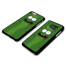 Pickle Rick And Morty Cartoon Phone Case Clip Cover
