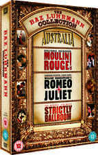 Australia / Moulin Rouge! / Romeo And Juliet / Strictly Ballroom DVD