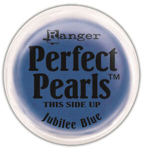 Perfect Pearls Pigment Powders .25oz-Jubilee Blue - Ranger