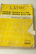 Fanuc Series 21-Tb 210-Tb Operators Manual
