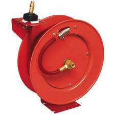 Lincoln Industrial 1/2 in. x 50 ft. Retractable Air Hose Reel 83754 New