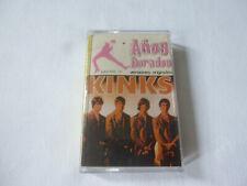 THE KINKS ~ ANOS DORADOS ~ RARE 1980 CLASSIC ROCK SPANISH CASSETTE TAPE