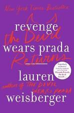 Revenge Wears Prada The Devil Returns Lauren Weisberger (trade paperback, 2014)