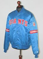 Vintage New York Giants NFL jacket Size XL Proline by Starter 80's 90's