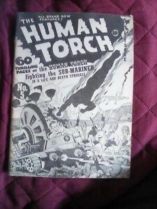 Human Torch #5, Alan Light Flashback