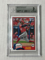 VICTOR ROBLES 2018 Topps Archives SP RC #265! BGS MINT 9! NATIONALS!