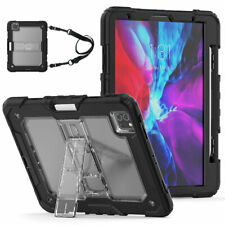 "For iPad 5th 6th 7th Gen Air 2 Pro 9.7"" Pro 11"" 2020 Translucent Hard Shell Case"