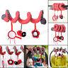 Kid Baby Mobile Crib Music Toy Baby Cot Pram Ringing Bed Bell Spiral Rattles
