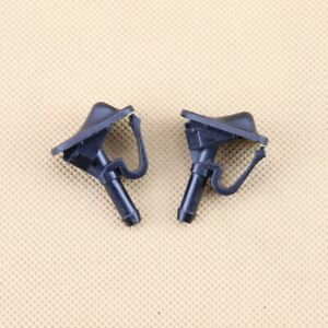 2 PCS Windshield Washer Nozzle For 02-12 Jeep Wrangler 02-06 Jeep TJ 55156728AB