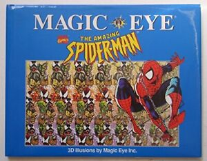 Magic Eye: The Amazing Spider-Man 3d Illusions Book The Cheap Fast Free Post