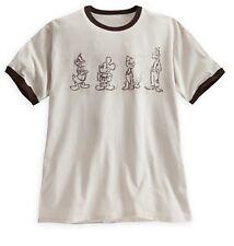 Disney Store Mickey Mouse Donald Goofy Pluto Mens T Shirt sz M L XL XXL 3XL 4XL