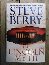 Steve Berry ~ The Lincoln Myth ~ Signed ~ 1st/1st ~ HC/DJ