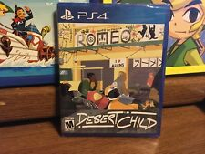 Brand New Sealed DESERT CHILD -- Limited Run Games #267 PlayStation 4, 2019 New