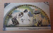 Postcard America Religon  Congressional Library Washington  ,unposted