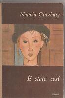 Natalia Ginzburg -E' stato così- Seconda edizione Einaudi 1949-L4112