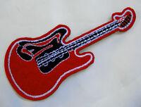 Aufnäher Gitarre Applikation Klampfe Patch guitar