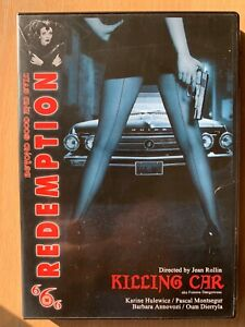 The Killing Car DVD 1993 Jean Rollin Cult French Horror with Karine Hulewicz